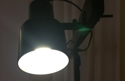 Home u e portfolio u e meubelen en verlichting u e zwarte staande lamp
